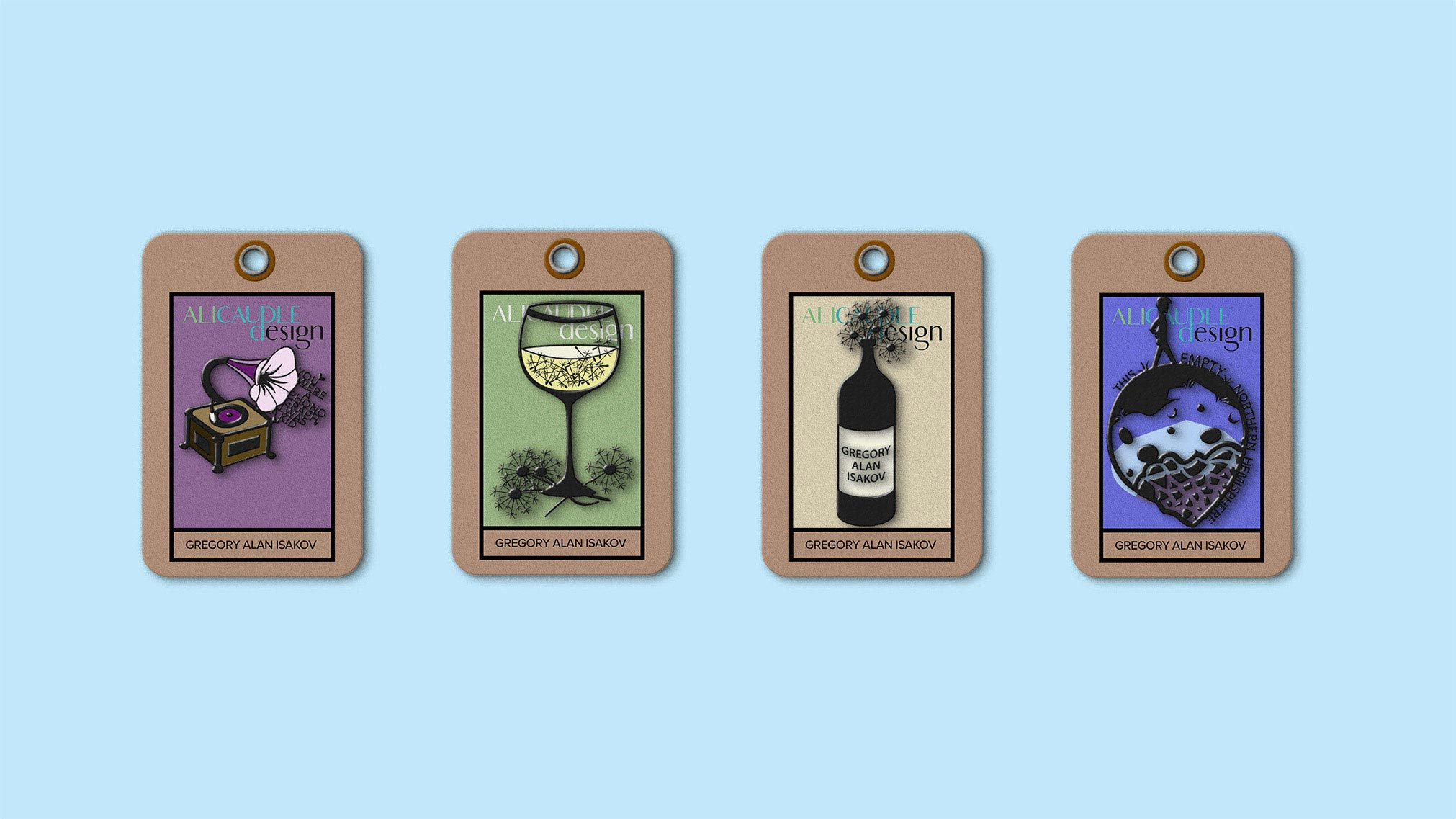 These pins are a part of an artist's album-release merchandise package. They were created first in Adobe Illustrator.