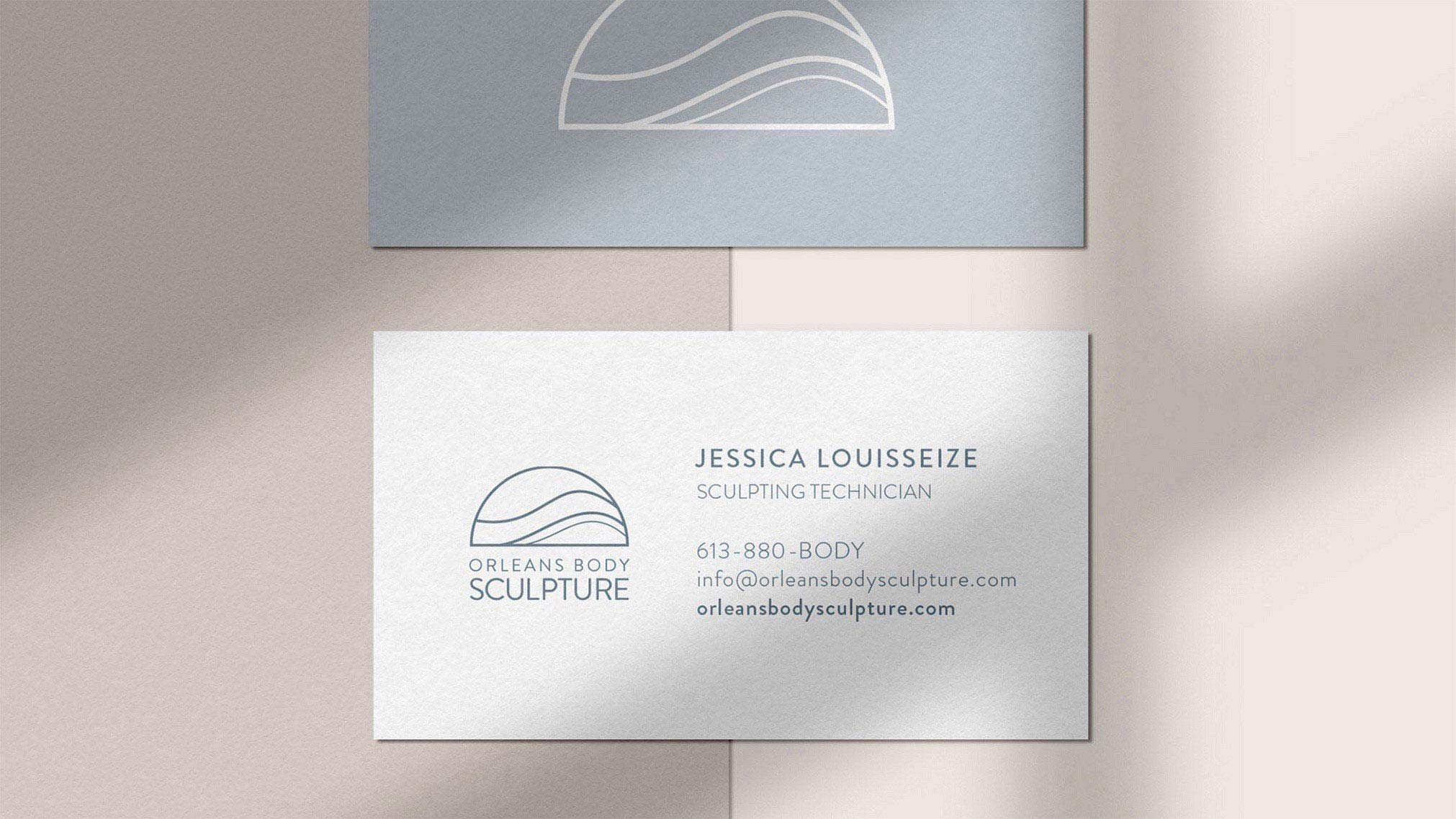 A soft and elegant brand identity was developed for Orleans Body Sculpture  - one that is non-trendy, but timeless. A complete brand guide, stationery pieces and digital creative direction were developed to complement the new branding.