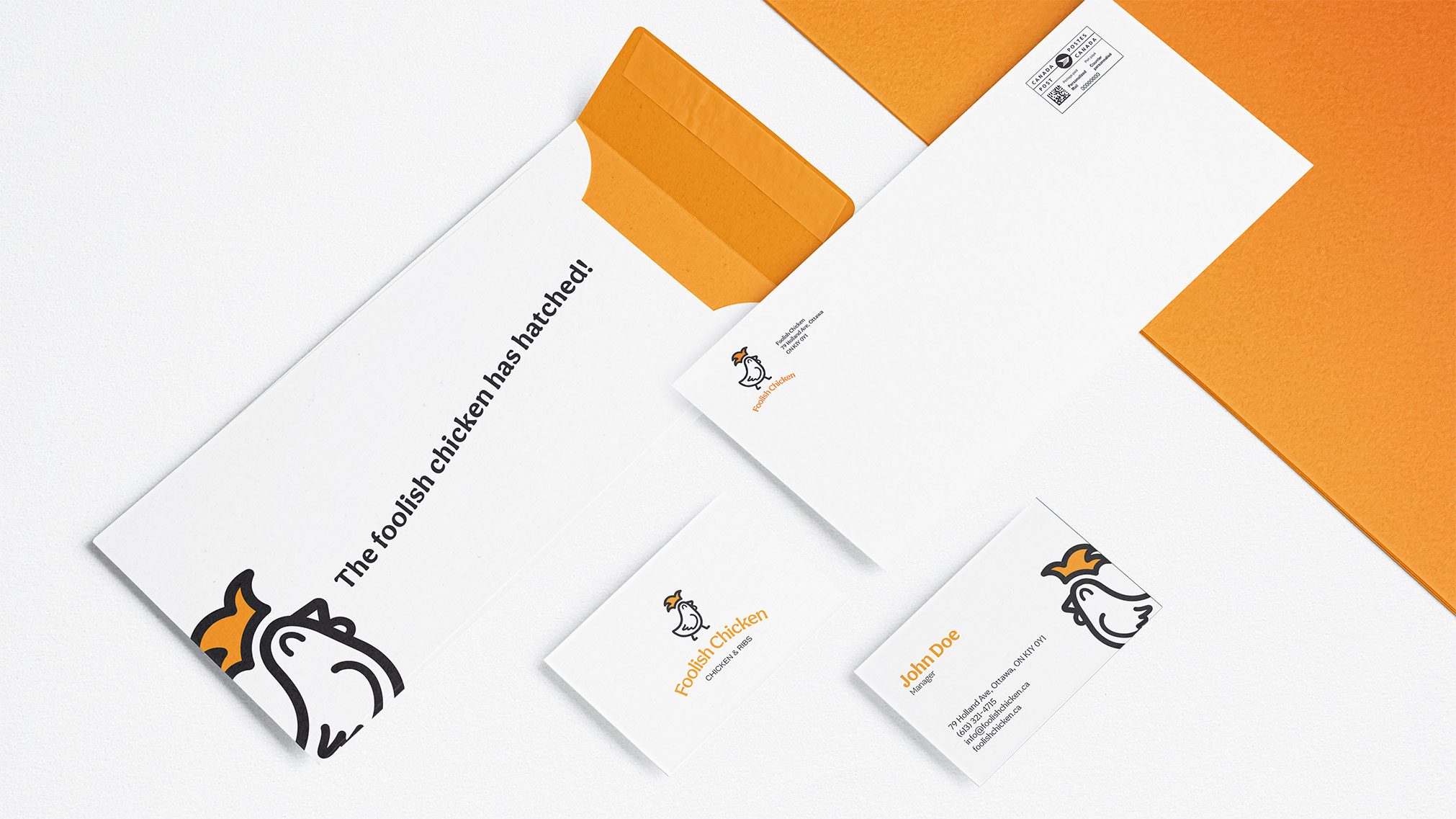 This rebranding project for Foolish Chicken restaurant is created to help their brand stand out and reach more audiences.