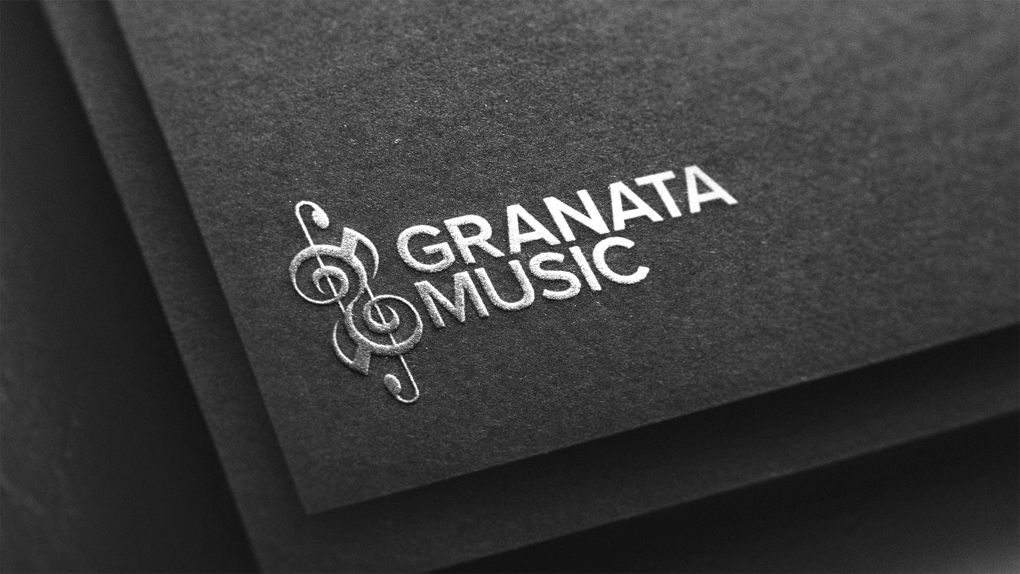 A logo concept I designed for a local music shop. This project also included a brand guide and stationery.