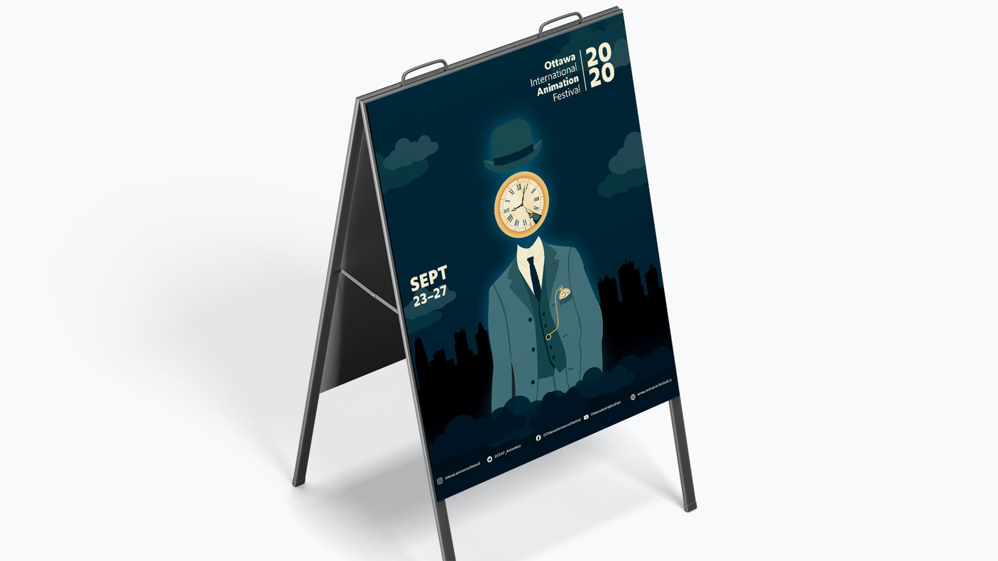 The Ottawa International Animation Festival (OIAF) is a yearly festival showcasing the most interesting animation, needs a posterzine that shows what the festival has to offer.
