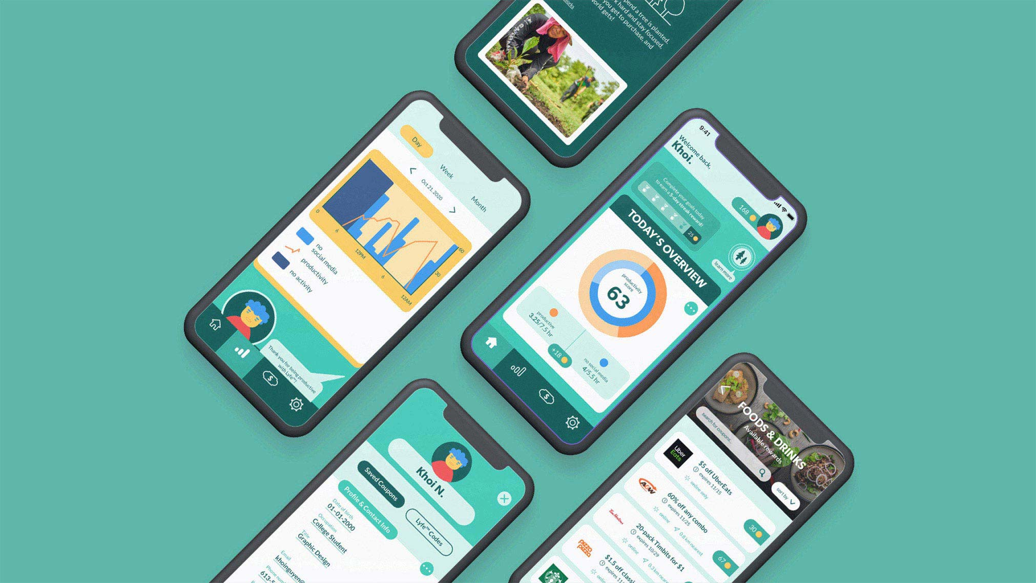 Lyfe™ — a mobile app prototype in response to the UN's Sustainable Development Goal 15: Life on Land.
