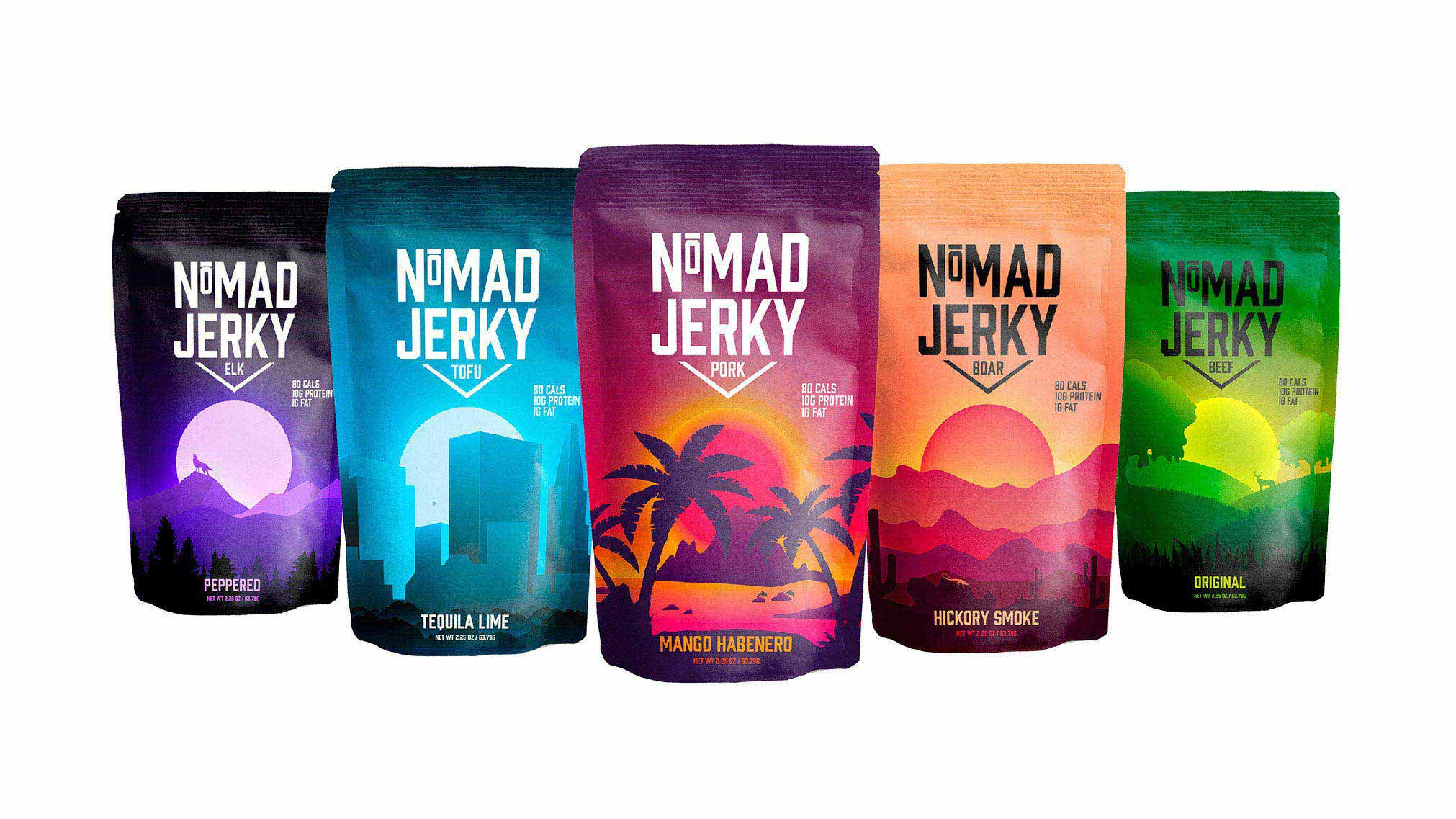 NoMAD Jerky is for thrill seekers, adventurers or just someone who wants a snack. Anyone with dietary and religious restrictions have an option too. This project was featured in RGD's #heyRGD contest for January.