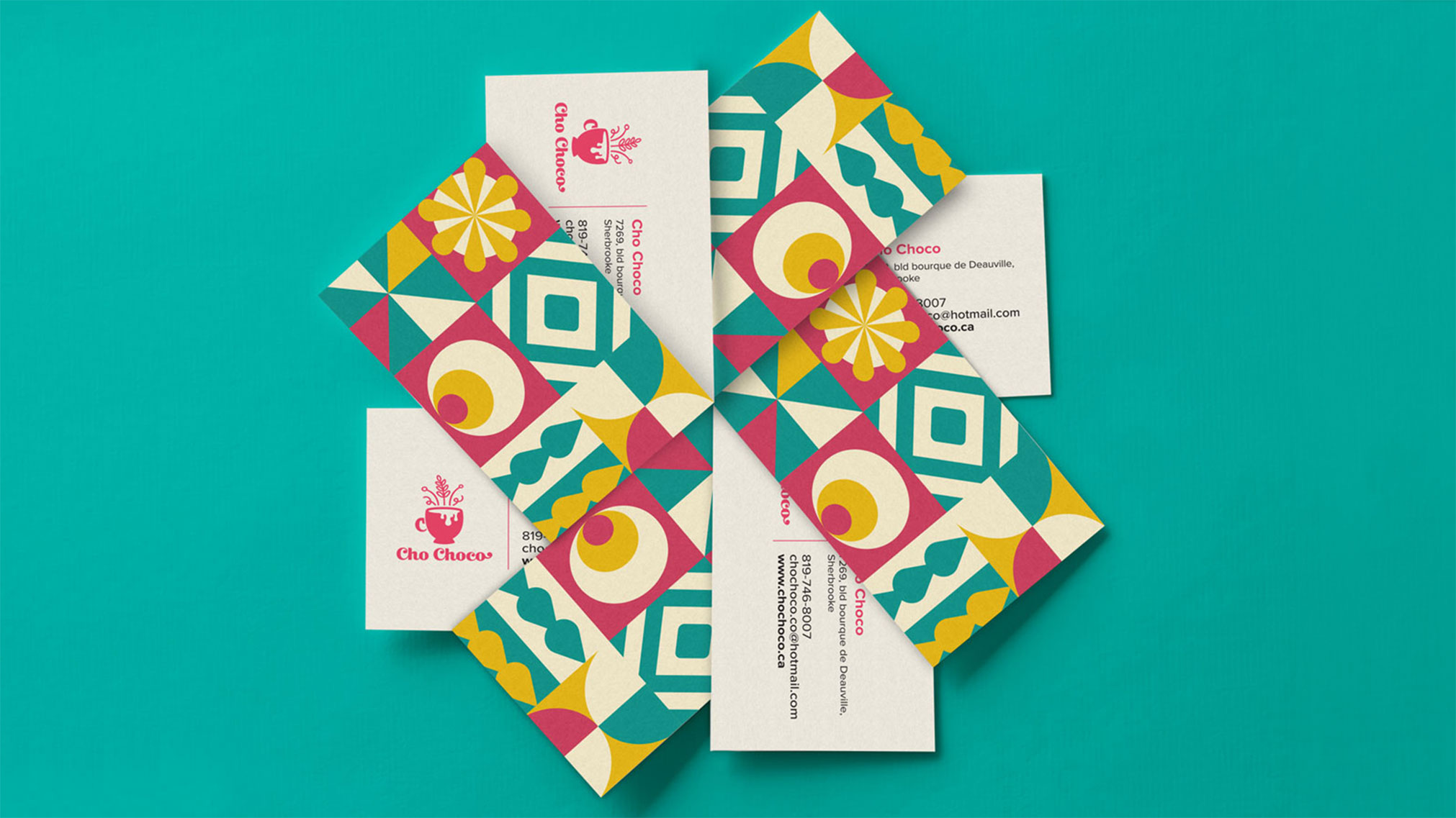 With their growing popularity, Cho Choco's branding was outdated and in need of a new identity. The goal was to give a makeover to the initial brand and give the company a look they would be proud of, while also pleasing the clientele.